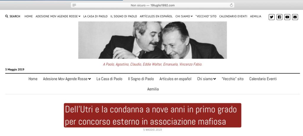 Padre Michele Vassallo Calendario.Mafia Irma Loredana Galgano